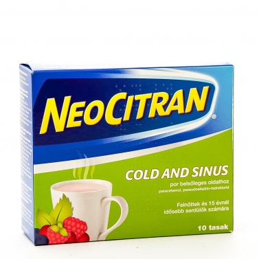 NEO CITRAN COLD AND SINUS POR BELS.OLDAT 10X