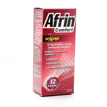 AFRIN COMFORT ORIG. 0.5MG/ML OLD.ORRSPRAY 15ML
