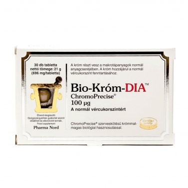 PHARMANORD BIO-KROM DIA TABLETTA 30X