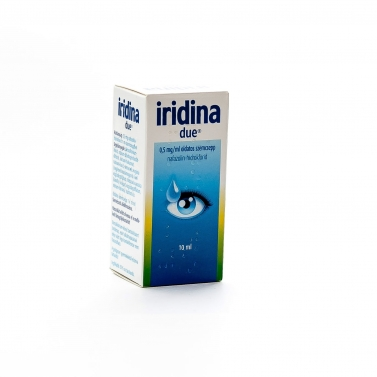 IRIDINA DUE 0,5MG/ML OLD.SZEMCSEPP 1X10ML