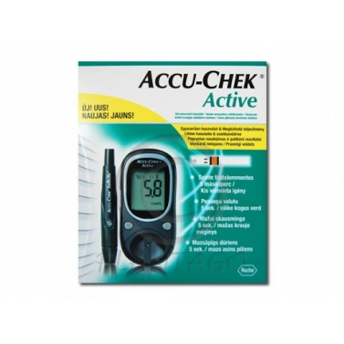 ACCUCHEK ACTIVE CHIPES VERCUKORSZINTMERO 1X