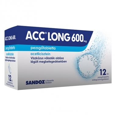 ACC LONG 600MG PEZSGOTABL. 12X